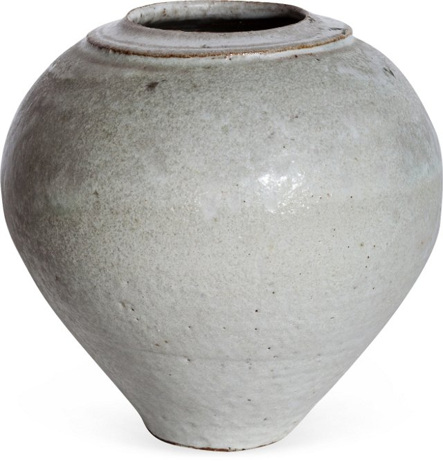 Win Ng White Ceramic Vase