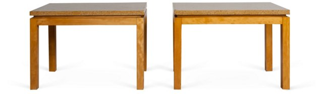 Van Keppel & Green End Tables, Pair