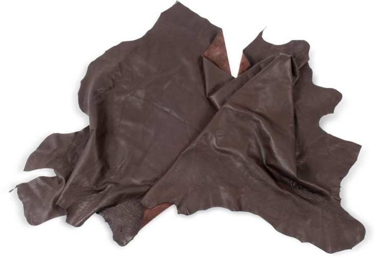 Leather Hide, Dark Brown I