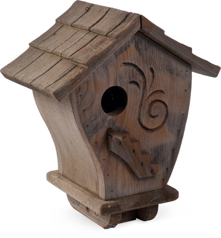 Redwood Birdhouse