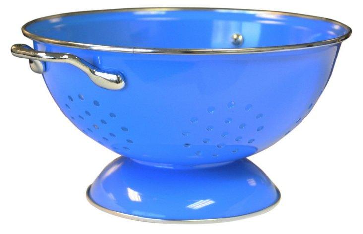 3 Qt Colander, Blue