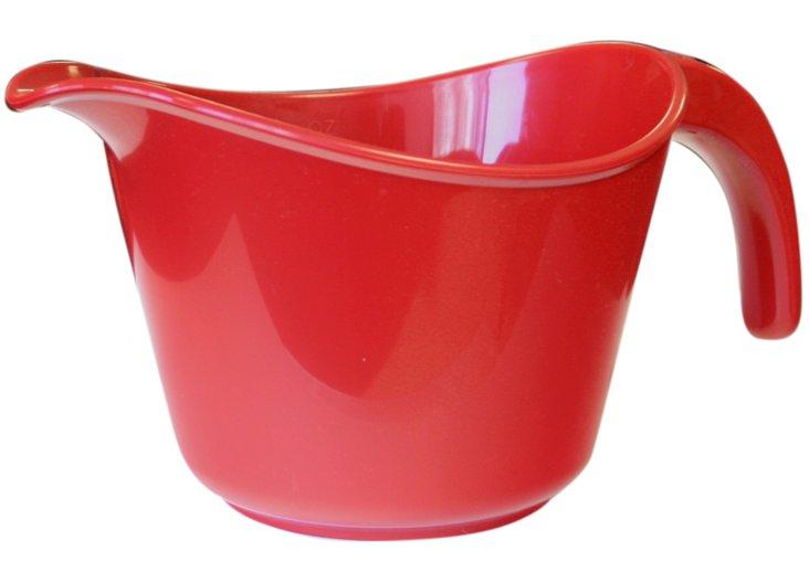 Microwave-Safe Batter Bowl, Red