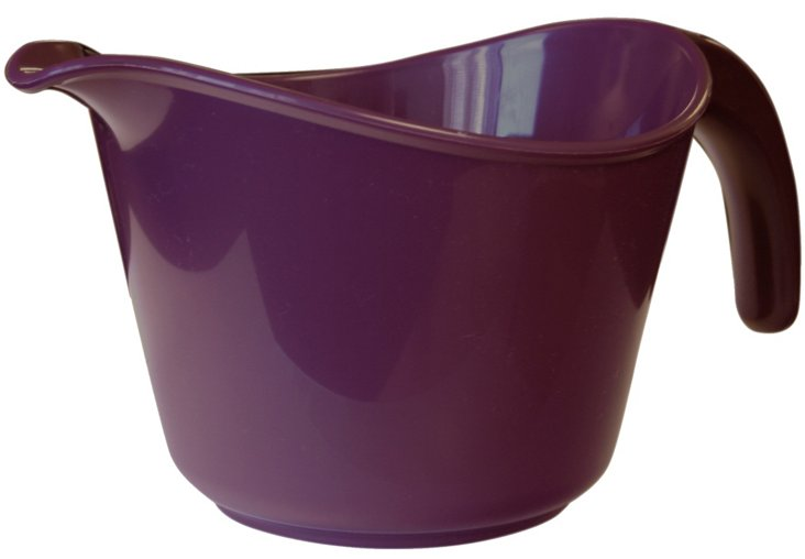 Microwave-Safe Batter Bowl, Plum