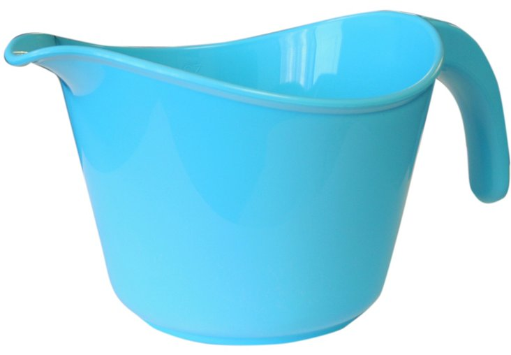 Microwave-Safe Batter Bowl, Turquoise