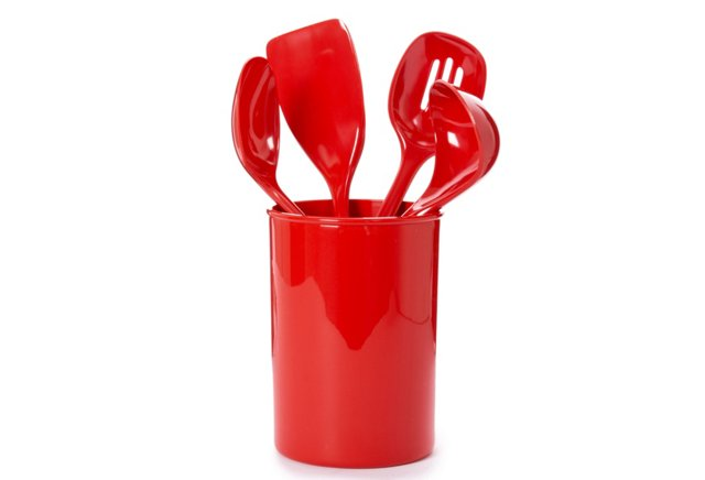 5-Pc Utensil Set, Red