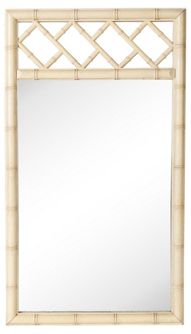 Bamboo-Style Mirror