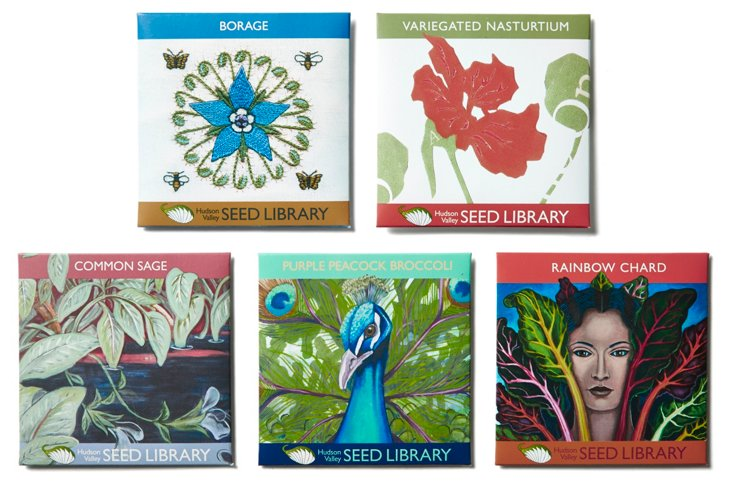 Asst. of 5 Ornamentals Seed Packets