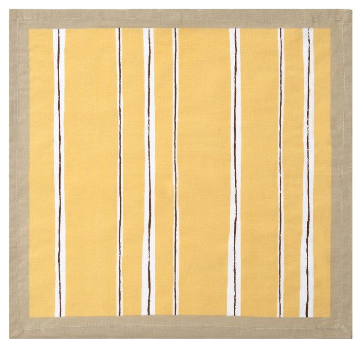 S/4 Summer Stripe Napkins