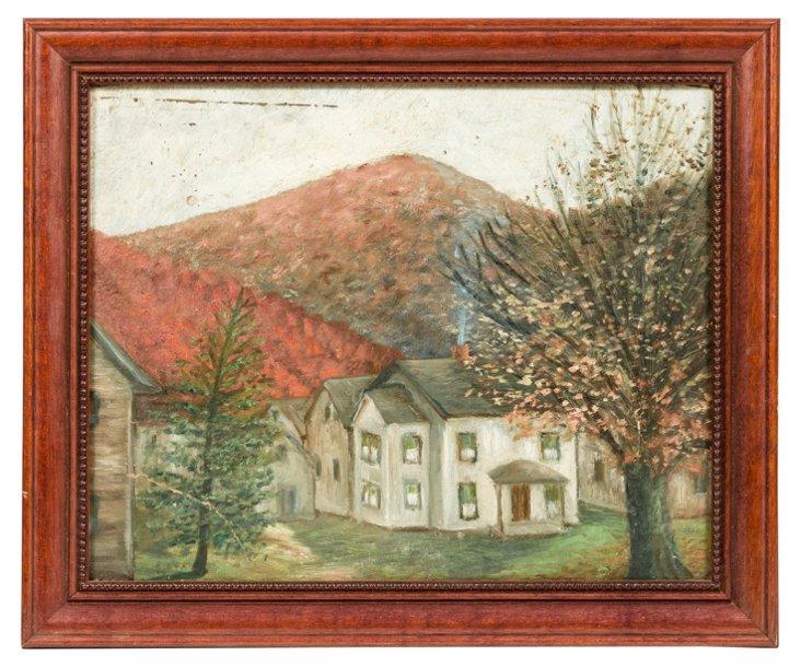 Vintage Framed Painting