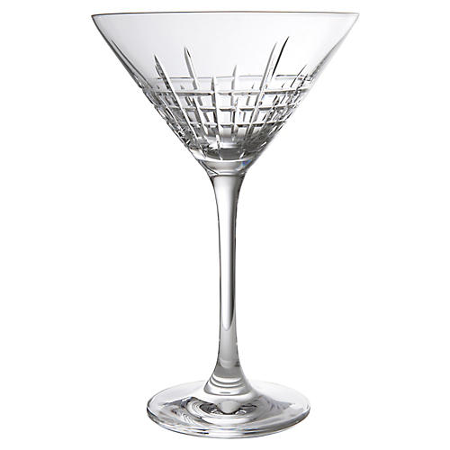 S/2 Distil Aberdeen Martini Glasses