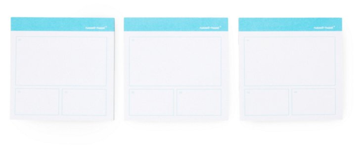 S/6 Project Planner Adhesive Notes