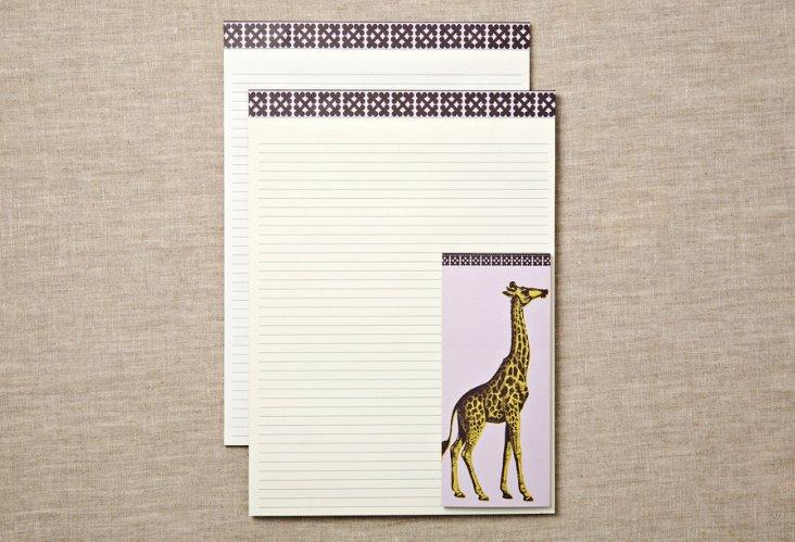 Bazaar Note Pads & List Pad Set