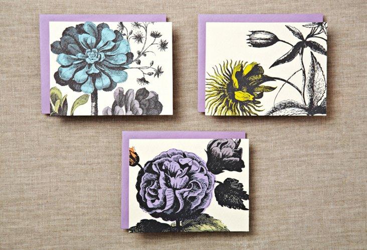 S/24 Botanical Notecards