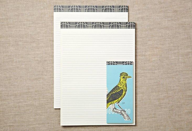 Ornithology Note Pads & List Pad