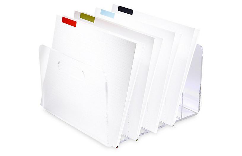 Acrylic Folder Collator - russell + hazel