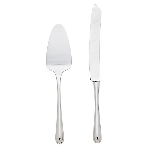 Asst. of 2 Pallone Cake Set, Silver
