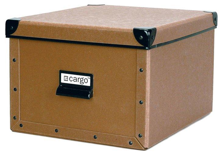 S/2 Cargo Shelf Boxes, Nutmeg