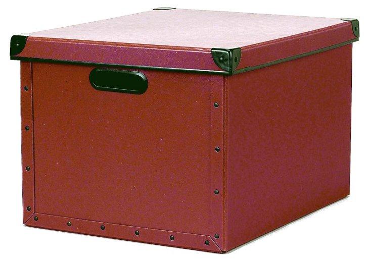 Cargo Dual File Box, Red Spice