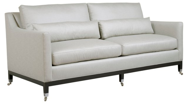 "Chelsea 84"" Sofa, Light Gray"