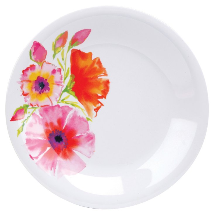 S/8 Melamine Dinner Plates, Marrakech