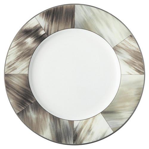 Gwyneth Salad Plate, Platinum Trim