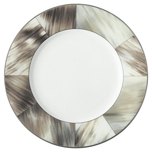 Gwyneth Salad Plate, Platinum Trim