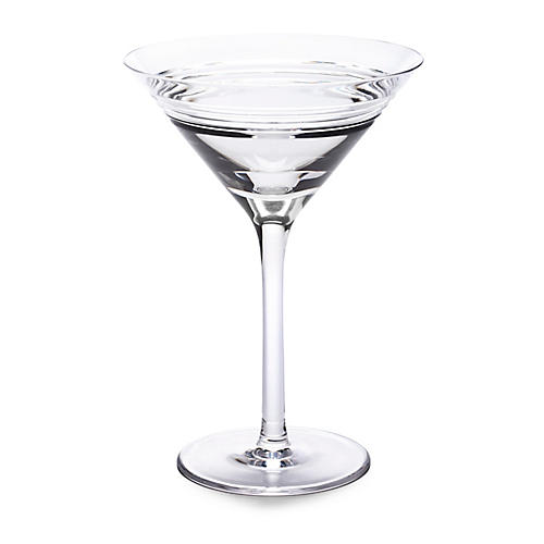Bentley Martini Glass, Clear