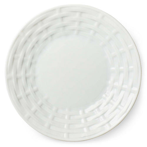 Belcourt Bread & Butter Plate, White