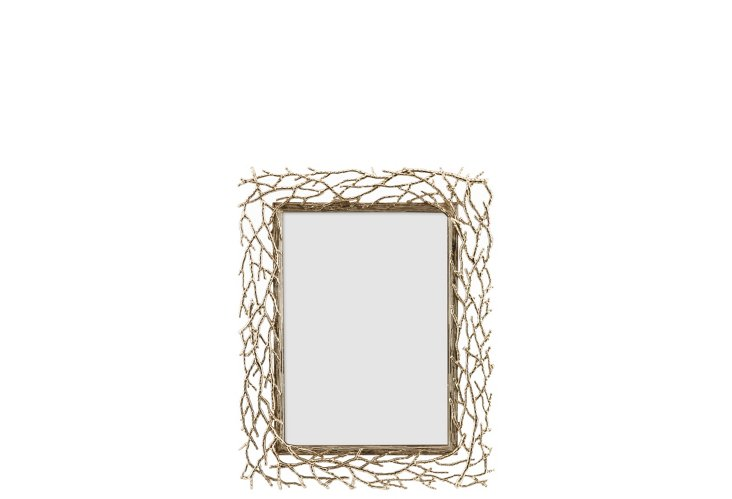 Branches Frame, 4x6, Gold