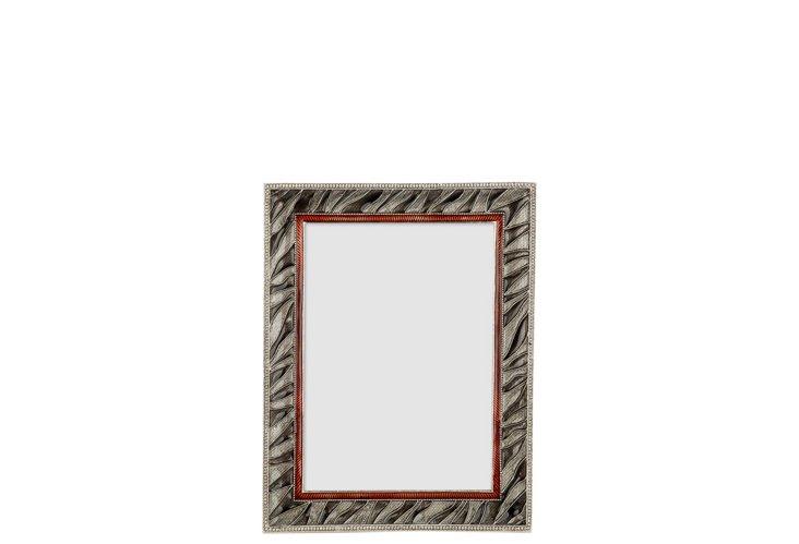 Zebra Frame, 4x6, Silver
