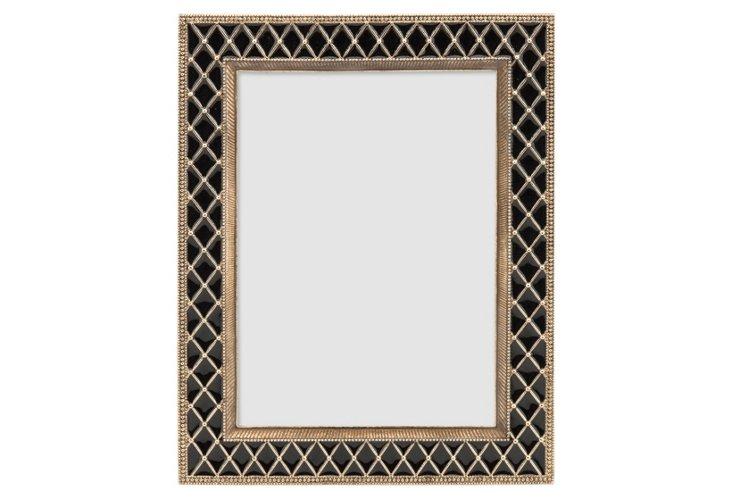Stratford Tiles Frame, 5x7, Black