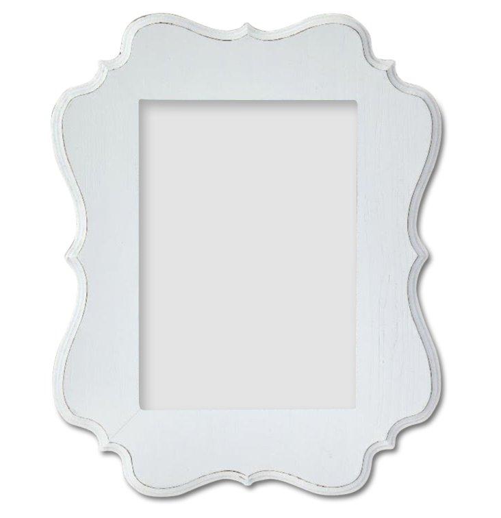 Annabelle Frame, 8x10, White