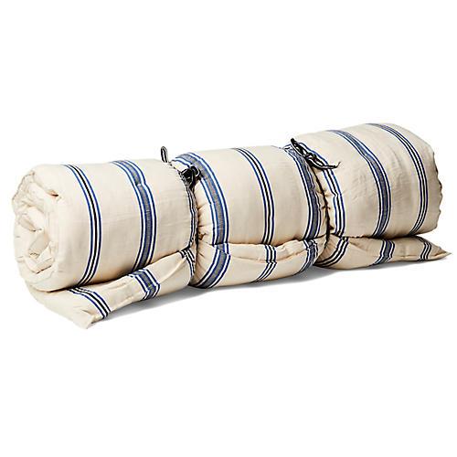 Kapok Throw Bed, Off-White/Multi