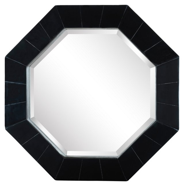 Hepburn Wall Mirror, Black