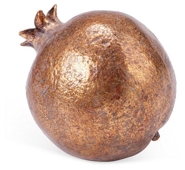 "5"" Pomegranate, Gold"