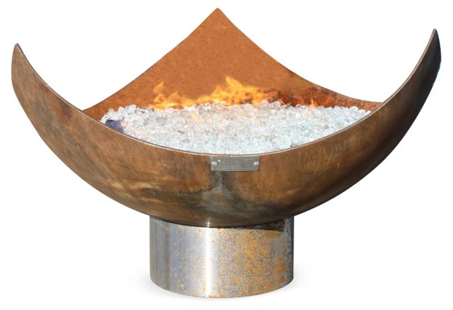 "37"" King Isosceles Fire Bowl"