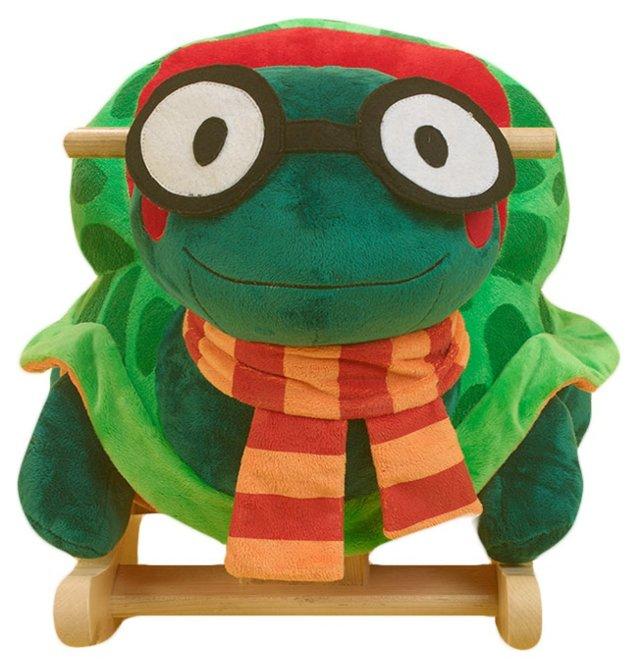 Sheldon the Turtle Rocker, Green/Multi