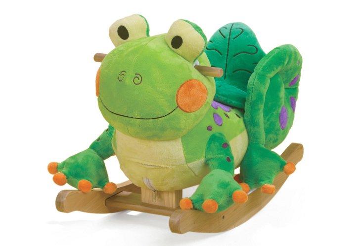 Fergie Frog Rocker, Green/Multi