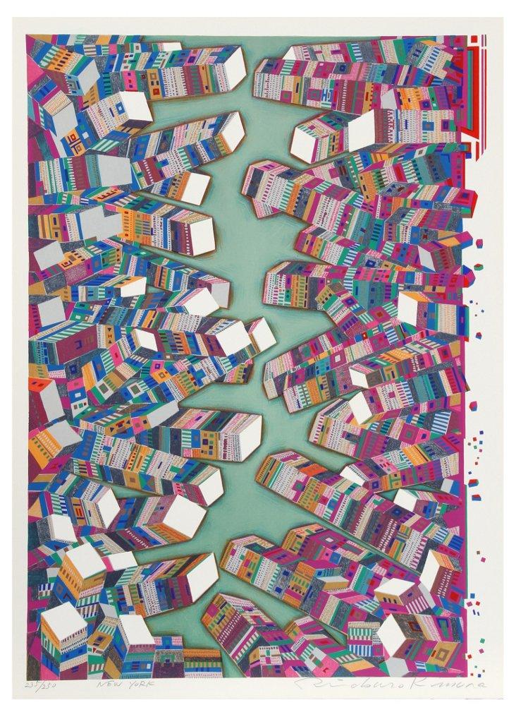 Risaburo Kimura, New York, Silkscreen