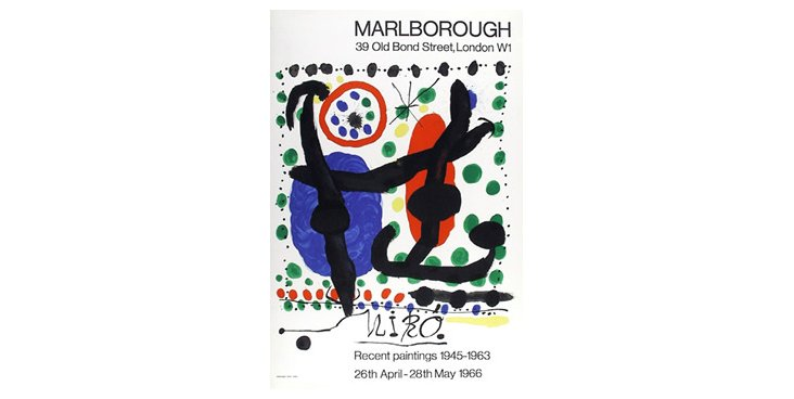 Joan Miró, Recent Paintings, Lithograph