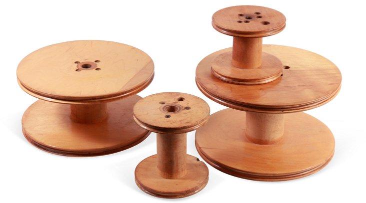 Vintage Spools, Set of 4