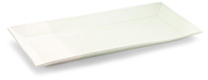 Porcelain Color Block Serving Tray