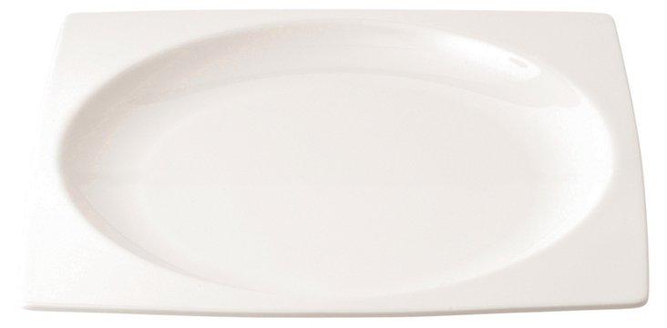 """Mode Platter, 11.75"""", White"""