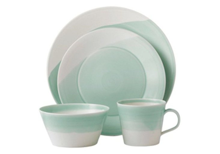 4-Pc Place Setting, Green