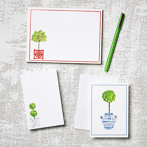 Asst. of 11 Topiary Stationery Set