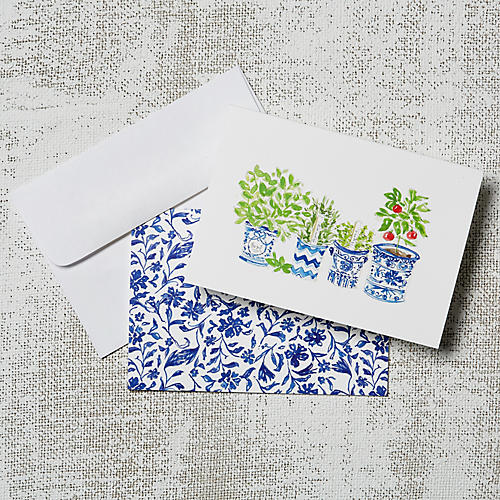 S/8 Garden Note Cards