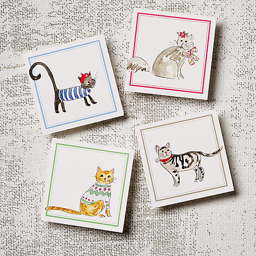 Asst. of 12 Cats Note Cards