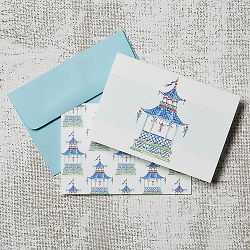 Asst. of 8 Pagoda Note Cards