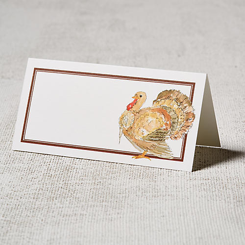 S/24 Turkey Place Cards