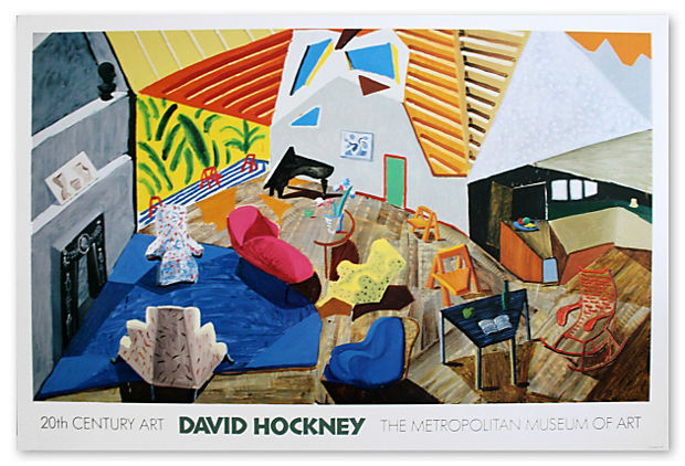 Hockney, Large Interior, Los Angeles